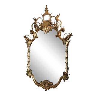 "Friedman Brothers Chinoiserie ""The Bramingham"" Style Mirror For Sale"