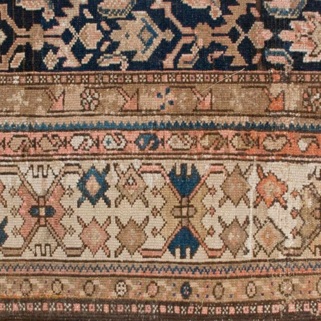 """Mid 19th Century Antique Malayer Carpet - 5'3"""" x 11'10"""" For Sale - Image 5 of 6"""