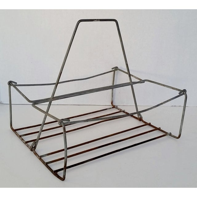 Vintage Metal Wire Caddy - Image 2 of 5