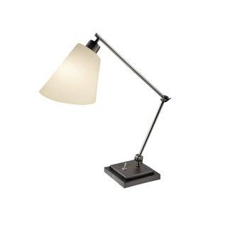 Desk Lamp in Black Bronze For Sale
