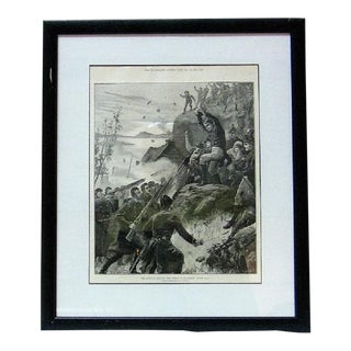 Irish Illustration of the Affray at Belmullet Co Mayo For Sale