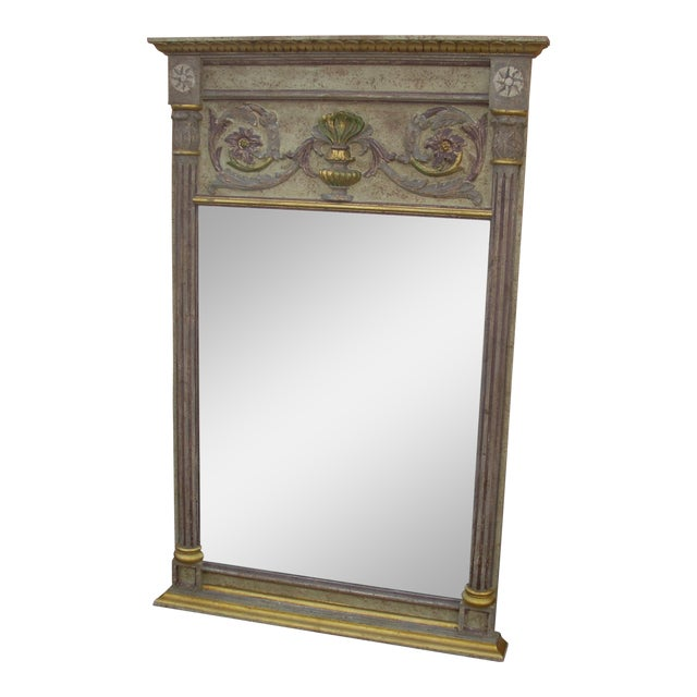 Decorative La Barge Tuscan Mirror For Sale