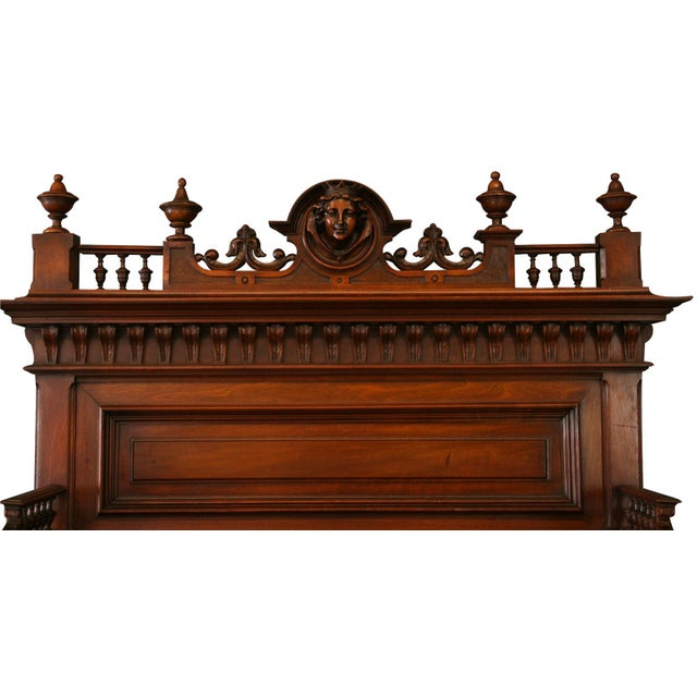 1900 French Renaissance Sideboard Server For Sale - Image 4 of 12