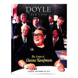 Doyle New York: The Estate of Elaine Kaufman Book For Sale