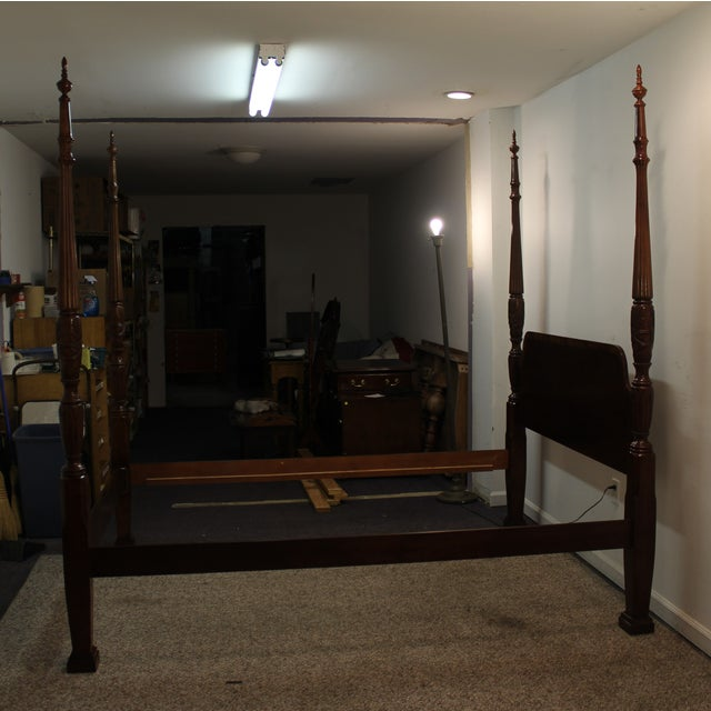 Traditional 4 Post. Plantation/Rice Queen Bedframe - Image 2 of 11