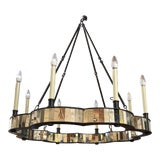 Image of Fiona Mirror Chandelier by Made Goods For Sale