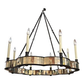 Fiona Mirror Chandelier by Made Goods For Sale