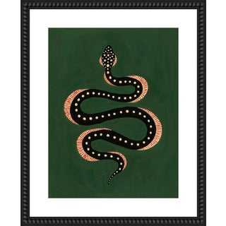 """""""Apple the Snake"""" Print by Willa Heart, 26"""" X 32"""" For Sale"""