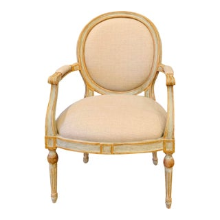 Dennis & Leen Handmade Bergere Chair For Sale