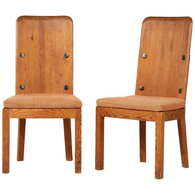 1930s Vintage Axel Einar Hjorth Lovo Chairs- a Pair For Sale
