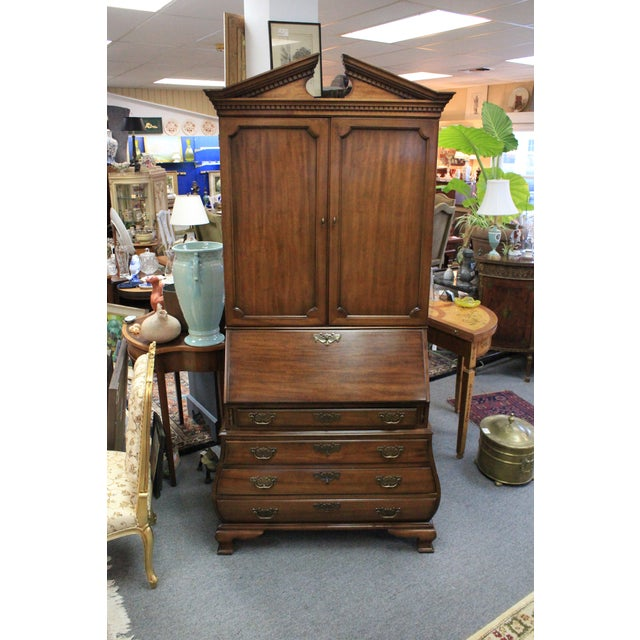 1968 Chippendale Drexel Secretary For Sale - Image 11 of 11