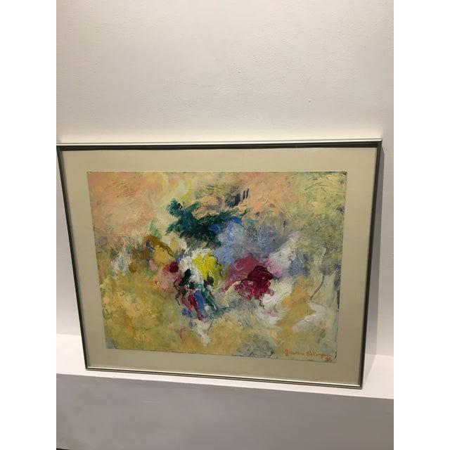 """""""Heaven's Door"""" Abstract Painting - Image 2 of 6"""