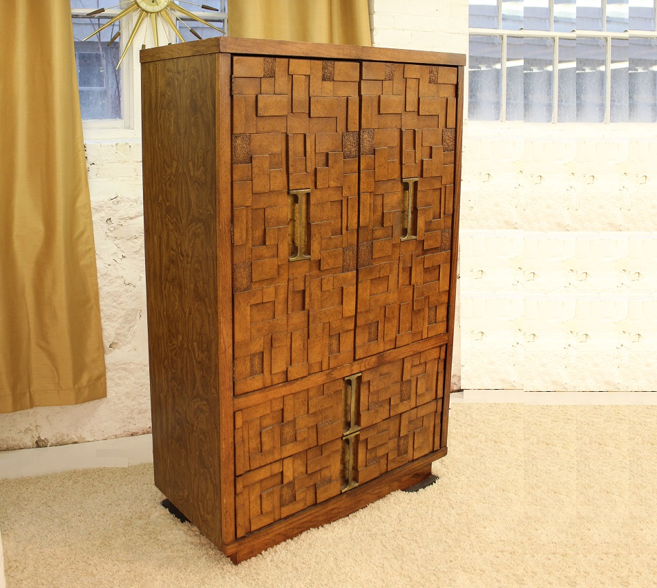 Superieur The Seller Says: The Brutalist Tall Dresser That We Are Offering Was  Manufactured By Burlington