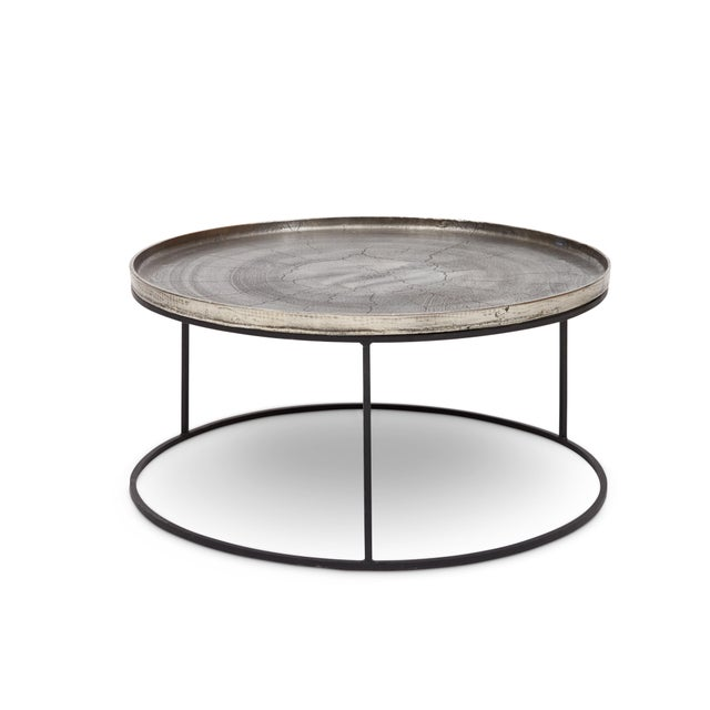 2010s Sana Coffee Table in Silver For Sale - Image 5 of 5