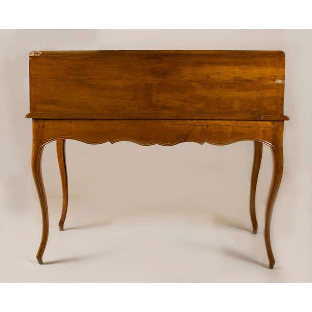 Cherry Wood Circa 1825 French Slant Front Writing Desk For Sale - Image 7 of 7