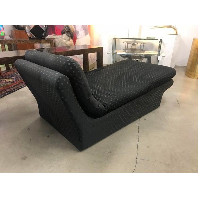 Modern 1970s Vladimir Kagan Chaise Lounge For Sale - Image 3 of 6
