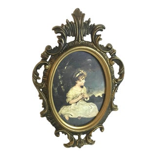 """Early 20th Century Vintage """"Age of Innocence"""" Print For Sale"""