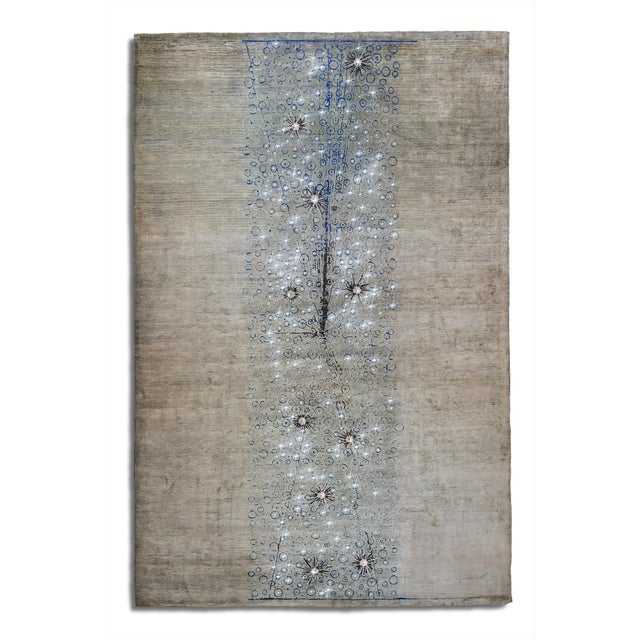 "Customizable ""Celestial"" Series Carpet #1 - Image 2 of 3"