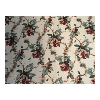 "Lee Jofa ""Lily Print"" Cotton Fabric"
