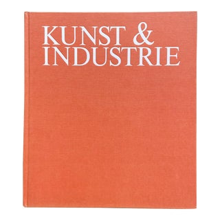 1980s Kunst & Industrie/Art & Industry Book For Sale