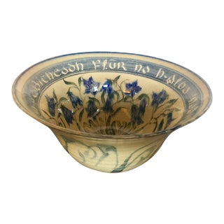1975 Port Perry Scottish Perry Port Studios Ceramic Bowl For Sale