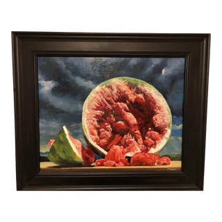 """The Watermelon"" Contemporary Painting"