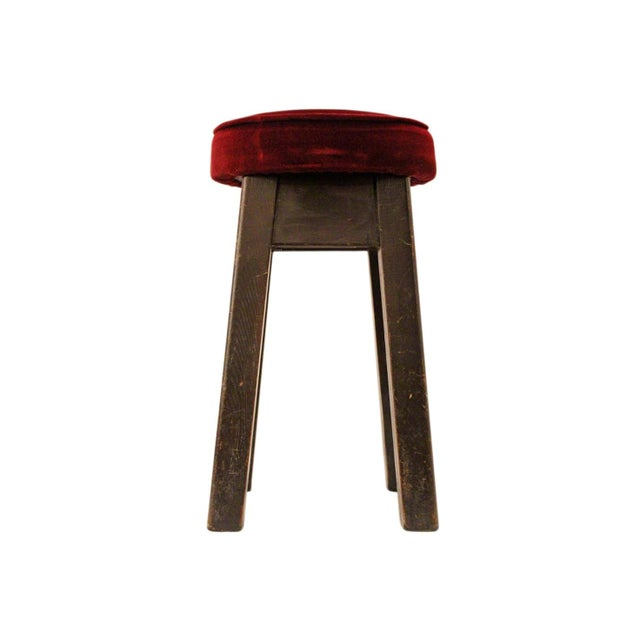 English Bar Stools -- Set of 6 For Sale - Image 4 of 5