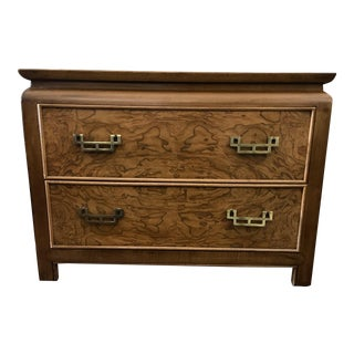 Century Furniture Chin Hua Chinoiserie Two Drawer Nightstand For Sale