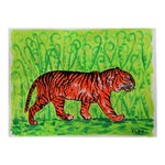 Tiger in Jungle Painting by Cleo Plowden