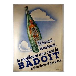 """Badoit"" French Original Advertising Poster"