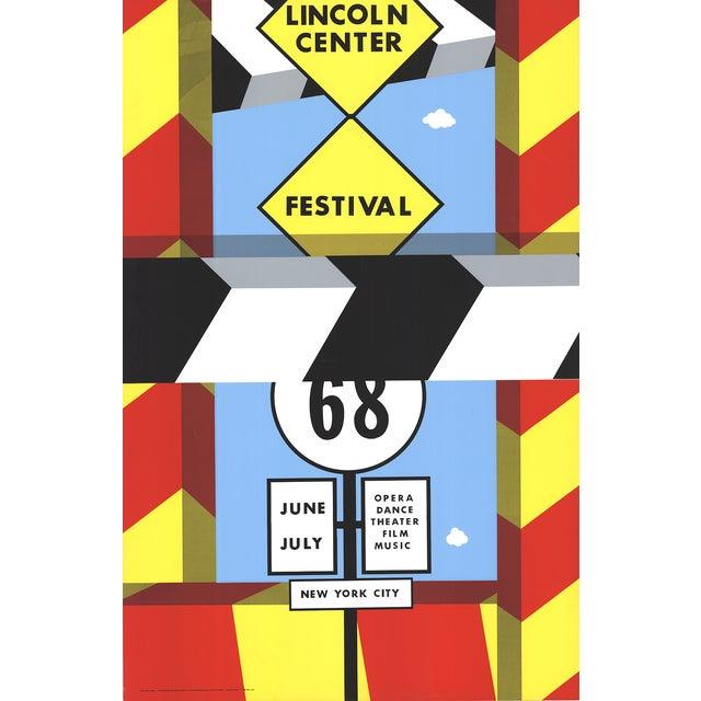 Allan d'Arcangelo Poster, Lincoln Center Festival For Sale