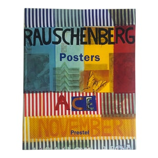 """ Rauschenberg Posters "" Rare 1st Edtn Collector's Lithograph Print Art Book For Sale"