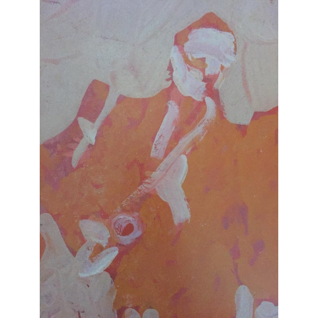 Mid Century Bay Area Figurative Musicians Painting - Image 9 of 10