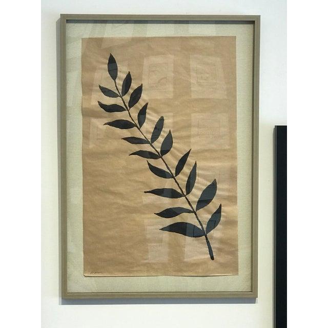 """R. F. Alvarez """"Branche Noir"""" Contemporary Painting For Sale - Image 4 of 4"""