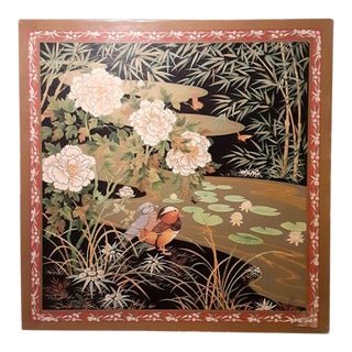 1980s Vintage Asian Theme Jigsaw Puzzle the Emperor's Dream Ducks Springbok For Sale