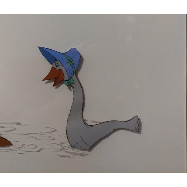 Disney original Animation Drawing Cell -O'Malley & Amelia - The Aristocats 1970 For Sale - Image 4 of 9