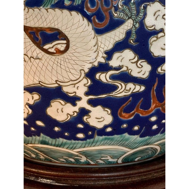 20th Century Chinese Export Polychrome Enamel Ginger Jar For Sale - Image 9 of 13