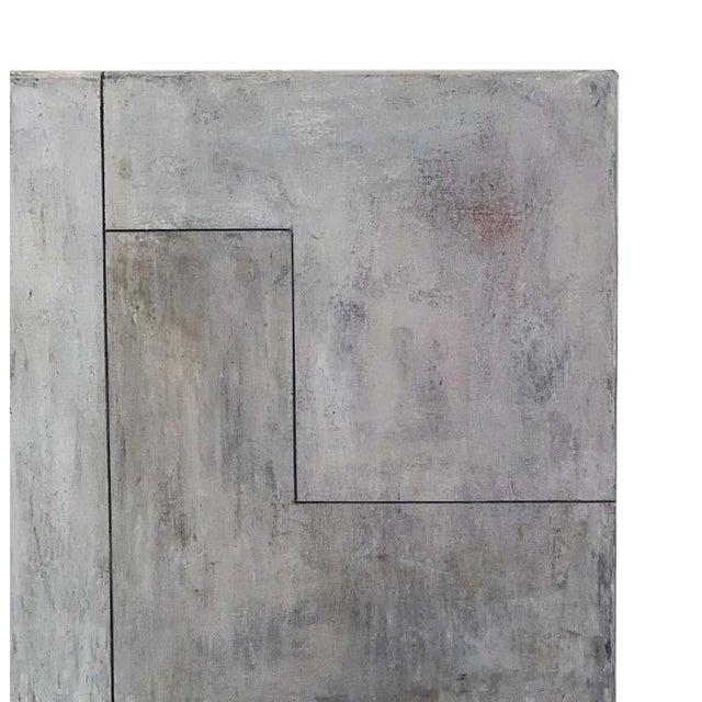 "2010s Stephen Cimini ""Onyx Meets Selenite"" Oil on Canvas Artwork For Sale - Image 5 of 7"