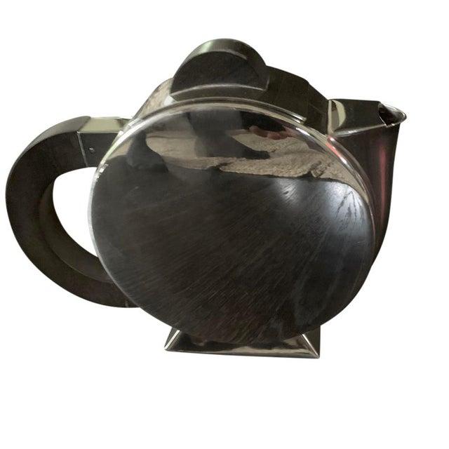 1990s Vintage Christofle Deco Tea Set For Sale - Image 5 of 8