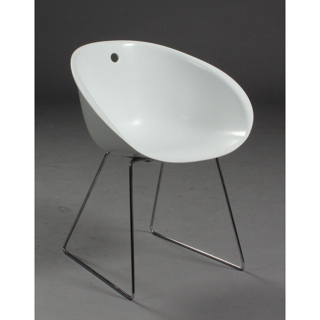 Modern Claudio Dondoli & Marco Pocci Gliss 920 Chairs- Set of 4 For Sale - Image 4 of 6