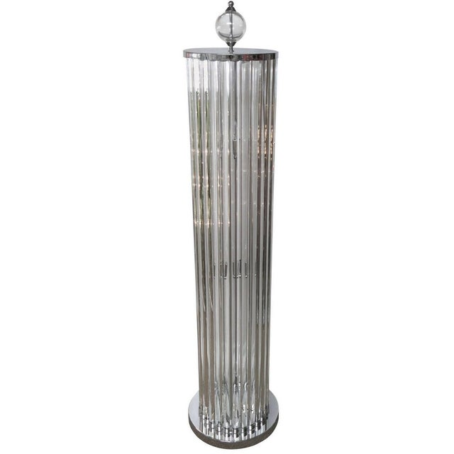 Italian Hollywood Floor Lamp by Fabio Ltd For Sale - Image 3 of 10