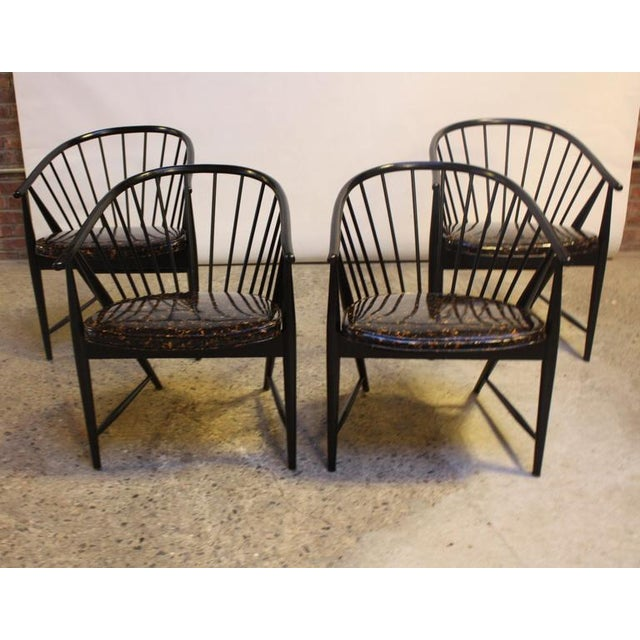 Set of Four Sonna Rosen 'Sulfjadern' Chairs - Image 2 of 8
