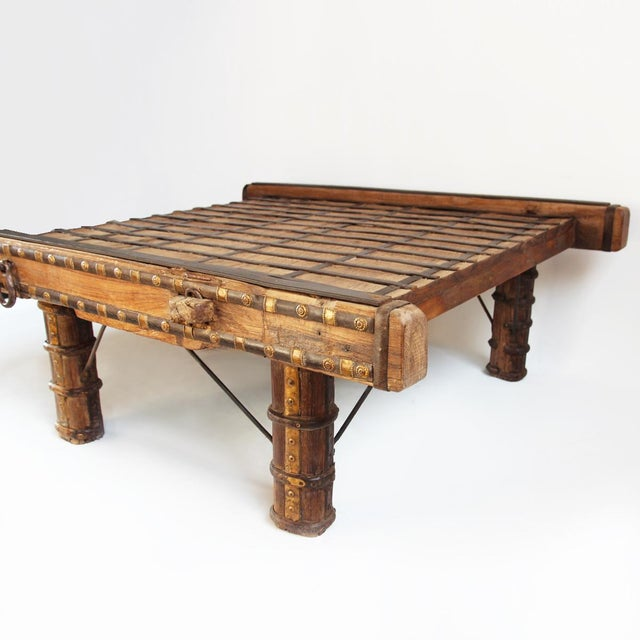 Ox Cart Coffee Table - Image 3 of 4