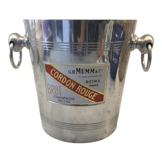 Vintage Mumm & Co. Cordon Rouge French Champagne Bucket