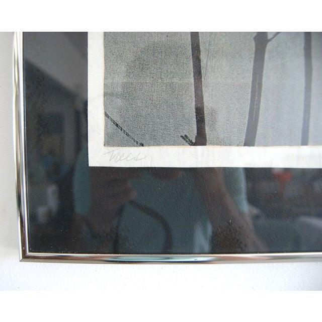 "Transitional Artist Eugene Larkin ""Trees"" Print For Sale - Image 3 of 3"