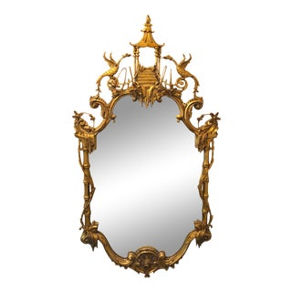 Friedman Brothers Chinioserie Mirror For Sale