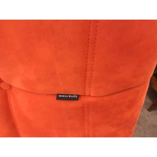 Michel Ducaroy for Ligne Roset Orange Togo Sofas - Set of 3 - Image 4 of 11