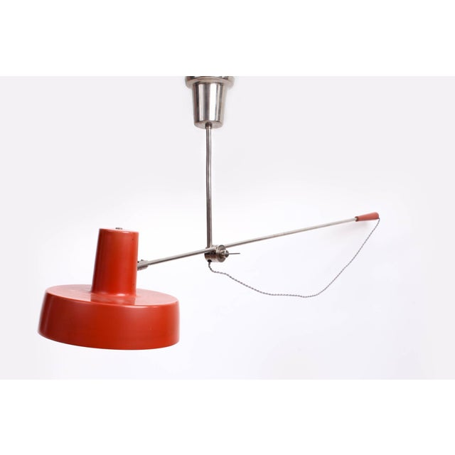 1950s 1950s Mid-Century Modern Swing Arm Ceiling Light For Sale - Image 5 of 9