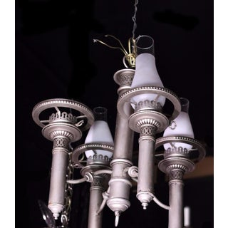 Colonial Style Early American 4-Arm Chandelier Fixture Lamp Light Preview