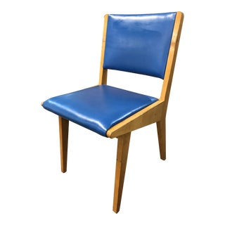 1940s Early Jens Risom for Knoll #666 Side Chair For Sale
